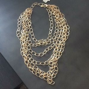 Amrita Singh gold necklace